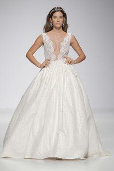 Weddings Ana Torres bridal dress