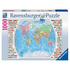 Ravensburger world map jigsaw puzzle 2000 piece by ravensburger ravensburger world map jigsaw puzzle 2000 piece by ravensburger english manual puzzles pinterest puzzle 2000 gumiabroncs Choice Image