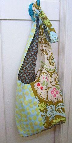 Handtasche mit breiten Trägern (Patchwork)