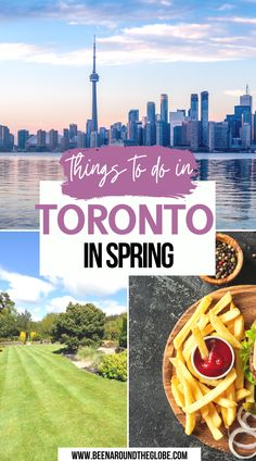 Things to do in Toronto in spring. All you need to know about Toronto, Canada! Toronto in spring | Spring in Toronto | Things to do in Toronto | Toronto activities | What to do in Toronto | Weekend in Toronto Canada Destinations, Bucket List Destinations, Amazing Destinations, Vancouver Travel, Toronto Travel, Adventure Bucket List, Adventure Travel, Quebec, Toronto Activities