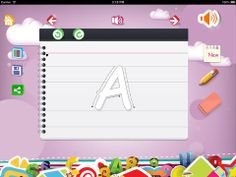 Home KG ($0.00) Home KG is an amazing free learning app for preschoolers to teach your children how to write alphabets, numbers and recognize shapes. This Kids app is a free teaching tool for toddlers and young children. It includes all English alphabets, digits from 0 to 9 and 10 different shapes.