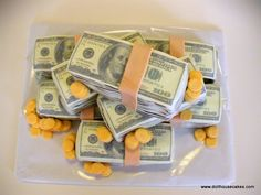 Money Birthday Cake » Dollhouse Cakes – Utahs Home Of The Original