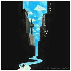 via Illusion & Surrealism «Tang Yau Hoong
