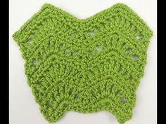 Crochet Punto Zig Zag en aumento