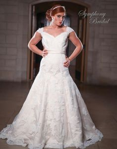 Symphony Wedding Dresses - Style S3423 [S3423] - $1,150.00 : Wedding Dresses, Bridesmaid Dresses, Prom Dresses and Bridal Dresses - Your Best Bridal Prices