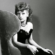 Glamour Shot of Lucille Ball