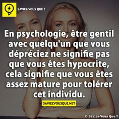 What about tolérance ! Hypocrite, Best Quotes, Life Quotes, Famous Quotes, Things To Know, Did You Know, Quote Citation, French Quotes, Psychology Facts