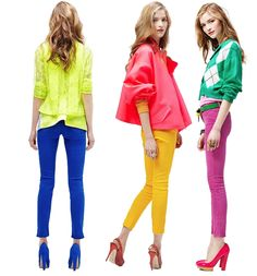 color blocking to the max