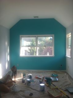 teal accent wall | for the home | pinterest | teal accent walls