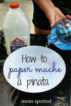 How to Make a Paper Mache Pinata