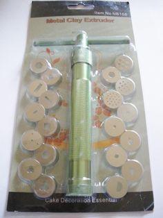 Extrudeuses 20 disques outils de sculpture Fimo : Pâtes polymères et accessoires par mercerie-jewelry