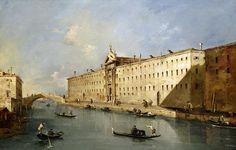 Guardi, Rio dei Mendicanti (c. 1785), Private Collection