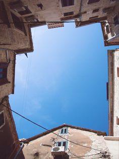 #montenegro #kotor #lookingup #geometric #sky #building #travel #vsco #vscogrid