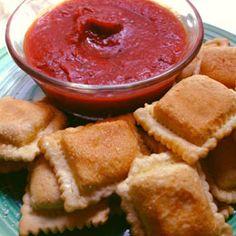 fried ravioli snacks