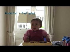 Baby-Led Weaning - 9 months - YouTube
