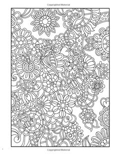 Amazon.com: Creative Haven Dream Doodles: A Coloring Book with a Hidden Picture Twist (Creative Haven Coloring Books) (9780486799025): Kathy Ahrens: Books