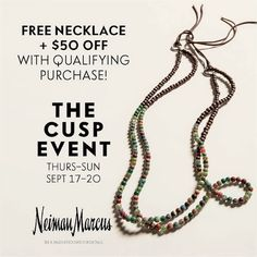 Please join me at The Cusp Event Friday September 17th.