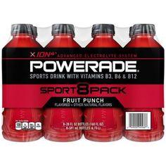 Sports Drink, Fruit Punch, One Job, Natural Flavors, Drink Bottles, Gourmet Recipes, Packaging Design, Vitamins, Packing