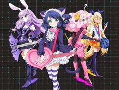 El Anime Show By Rock!! revela a los miembros de su equipo y su primer vídeo promocional animado.