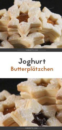 Joghurt Butterplätzchen - 1k Rezepte
