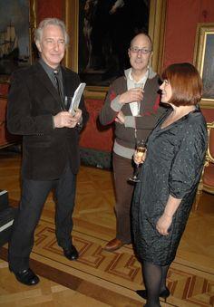 Alan Rickman and Rima Horton at Doris Lessing - Harpercollins and English Pen Reception (2008)