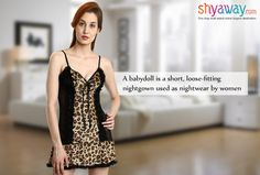Lingerie definition of the week - Babydoll! http://ow.ly/tzgh303Y4Ks