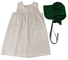 Amazon.com: Little House on the Prairie Child-size Apron and Bonnet. One-Size Fits Most! Child's Dress Up Outfit Pairs Perfectly with The Queen's Treasures Little House on the Prairie Dress for 18 inch Dolls.: Toys & Games