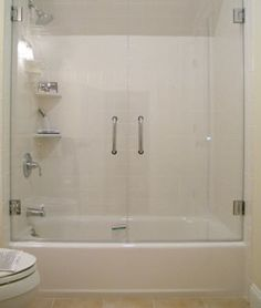 Swinging Frameless Gl Shower Doors For Tubs