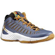 #Jordan Super.Fly - Men's - Obsidian/Metallic Gold/White/Black $140