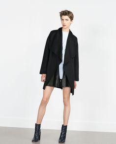 ZARA - WOMAN - HAND MADE COAT 130 EUR