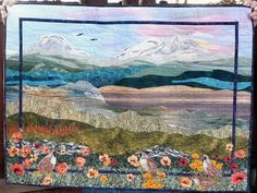 Pictures of Landscape and Art Quilts