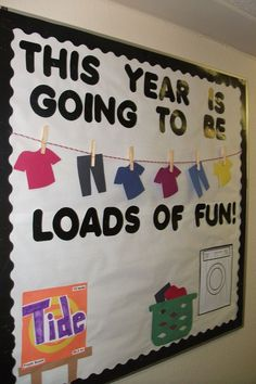 Back to School Bulletin Board Ideas - Passion for Savings The best back to school bulletin board ideas to dress up the school this year. These back to school bulletin board ideas will get kids excited. September Bulletin Boards, Summer Bulletin Boards, Back To School Bulletin Boards, Preschool Bulletin Boards, Classroom Board, Bulletin Board Display, Classroom Bulletin Boards, Bullentin Boards, Classroom Ideas