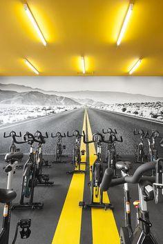 Ideas For Fitness Design Gym Interior Gym Interior, Office Interior Design, Interior Decorating, Interior Ideas, Fitness Design, Gym Design, Sport Design, Setubal Portugal, Gym Club