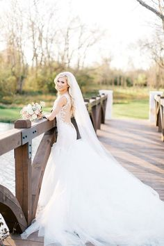 Our favorite 16 wedding veils so far! Spotted on Etsy from stores like Veiled Beauty, Becca's Bridals Boutique, Blanca Veils.