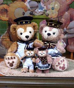 New Disney Duffy Bear Summer Plush Badge Tokyo Disney Sea Japan ...