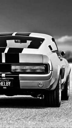 """h-o-t-cars: """" 1967 Ford Mustang Shelby GT500 