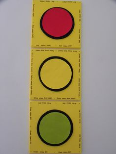 Perfect for child's room with a transportation theme. Stoplight art using 3 separate square canvases. To check out the tutorial on how to do it go to www.nearlyfar.com.