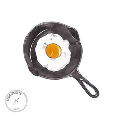 Good objects - Sunny side up #goodobjects #illustration