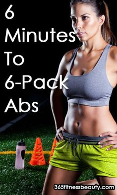 6 Minutes To 6-Pack Abs – 6 Best Ab Exercises For Women