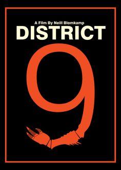 District 9(2009) ~ Minimal Movie Poster by Kittitath Tanyavanish