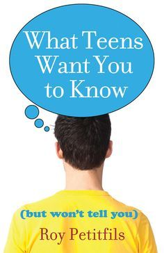 """""""What Teens Want You to Know"""" gives voice to ten things young people want adults to know but won't tell them. It discusses such issues as your relationship with a teen, acceptance of teen behavior, teens' desire to serve, and much more.  Roy Petitfils assures you that young people want  to include adults in their lives. With his guidance, you can help them do that."""