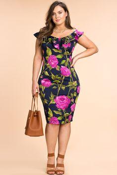 Women\'s Plus Size Bodycon Dresses   Floral Burst Off Shoulder ...