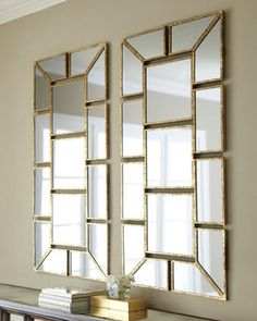 Scatter Mirror Wall Decor - traditional - mirrors - Horchow