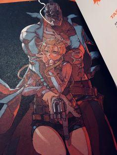 Artwork im Manga No Guns Life