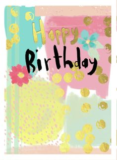 Charlotte Pepper - Birthday-floral-painty
