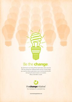 The Change Initiative Print Campaign on Behance