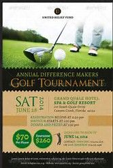 Image Result For Golf Tournament Flyer Template