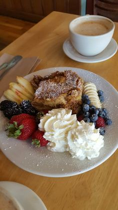 Photo of Sally Loo's Wholesome Cafe - San Luis Obispo, CA, United States. Croissant bread pudding special. So so good.