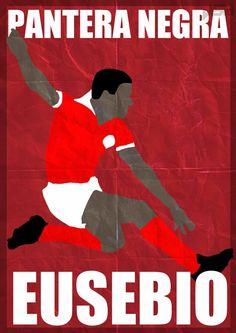 Les légendes du football en affiches minimalistes par John Sideris