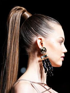ponytail hairstyles for black women;ponytail hairstyles for black hair;ponytail hairstyles for black hair kids;ponytail hairstyles for long hair; High Ponytail Hairstyles, Ponytail Styles, Fast Hairstyles, Sleek Ponytail, High Ponytails, Popular Hairstyles, Straight Hairstyles, Formal Ponytail, Straight Ponytail